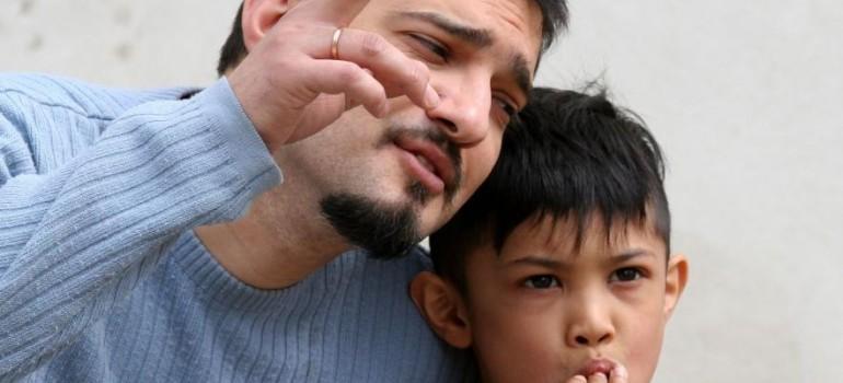 Курящий отец: почему это плохо?