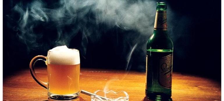 Алкоголь и курение: есть ли взаимосвязь между вредными привычками?